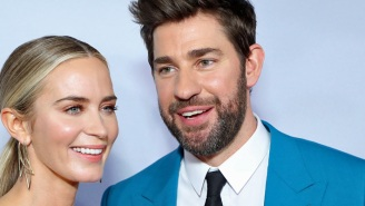 John Krasinski And Emily Blunt Are Setting The Record Straight On Those 'Fantastic Four' Rumors
