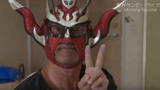 Jushin Thunder Liger Has The Perfect YouTube Video For Your Quarantined Brain