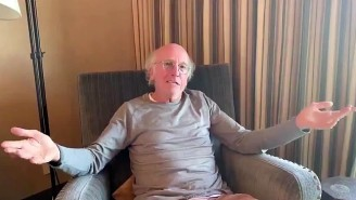 California Got Larry David To Make A Coronavirus PSA For Idiots: 'Go Home, Watch TV'