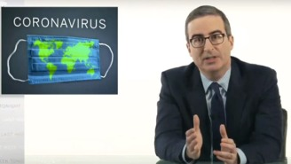 John Oliver Urges His Audience To Follow An 'Absolutely Crucial' Step To Beating The Coronavirus