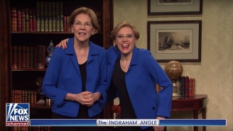 Elizabeth Warren Joined The 'SNL' Cold Open To Talk Post-Primary Life