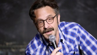 Marc Maron Got His Own Cameo In The 'Amazing Spider-Man' Comic, And He Seems Surprisingly 'Cool' With It