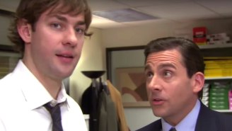 'The Office' Stars John Krasinski And Steve Carell Reunited To Bring 'Some Good News' Into The World