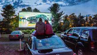 With Theaters Closing Their Doors, Old School Drive-Ins Are Seeing A Comeback