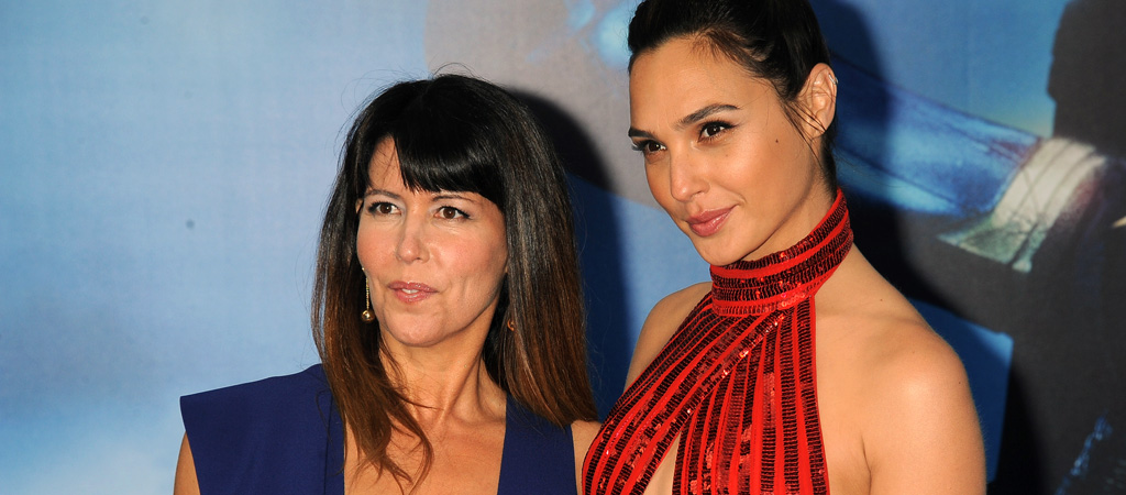 patty jenkins gal gadot wonder woman premiere