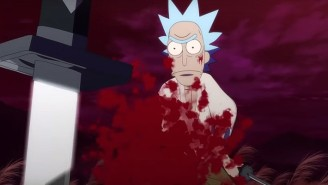 The Latest 'Rick And Morty' Short Is A Bloody Samurai Showdown