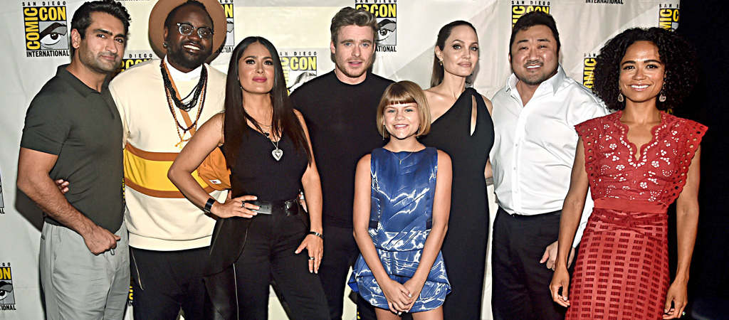 the eternals cast comic-con