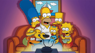 'The Simpsons' Unveils A Virtual-Reality Themed New Look As A Quarantine-Themed Couch Gag
