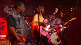 Thundercat's 'Kimmel' Performance Of 'Black Qualls' Pays Tribute Mac Miller With A Bunch Of Special Guests
