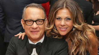Rita Wilson Says It's Been One Year Since She And Tom Hanks Contracted COVID-19