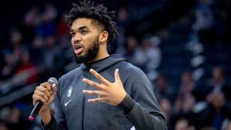 Karl-Anthony Towns Issued A Tearful Message About His Mother In A Coma Due To Coronavirus