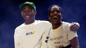 ASAP Rocky And Tyler The Creator Hilariously Trolled Each Other On Instagram Live
