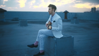 Finneas Lights Up The LA City Skyline In His 'Let's Fall In Love For The Night' Video