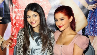 Ariana Grande Celebrates The Tenth Anniversary Of 'Victorious,' The Show That Launched Her Career