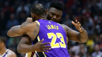 LeBron And Zion Put On A Show As The Lakers Edged The Pelicans