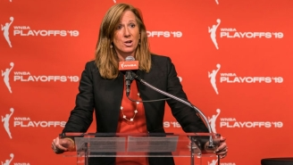WNBA Commissioner Cathy Engelbert Wants To Use The Ongoing Crisis To Improve The League