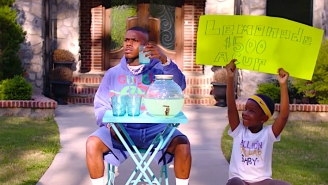 DaBaby Helps His Son Sell Lemonade In The Enterprising 'Can't Stop' Video