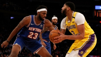 The Knicks Reportedly 'Were Not Open' To Including Mitchell Robinson In An Anthony Davis Trade