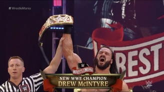 New WWE Champion Drew McIntyre Could Already Have His First Challenger In Tyson Fury
