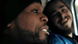 50 Cent And Post Malone Conspire In The Just-Released Video For A Five-Year-Old Collaboration