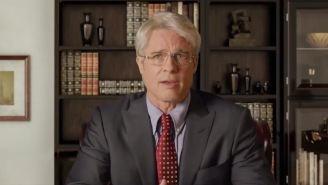 Brad Pitt Made Dr. Anthony Fauci's Wish Come True On 'SNL'