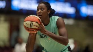 The New York Liberty Sent Tina Charles To The Washington Mystics In A Three-Team Trade