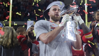 Travis Kelce Loves 'Every Bit' Of 'Madden NFL 21's New Game Mode 'The Yard'
