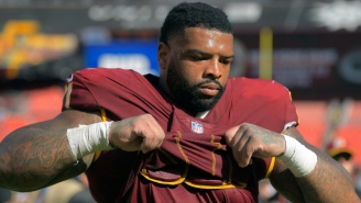 The Niners Acquired Pro Bowl Offensive Lineman Trent Williams For A Pair Of Draft Picks