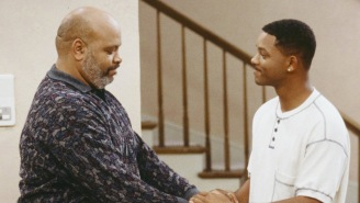 Will Smith Got Emotional While Watching This 'Fresh Prince' Tribute To James Avery
