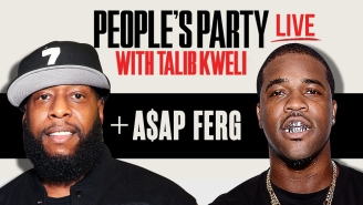 Talib Kweli & ASAP Ferg Talk ASAP Yams, Air Force Ones, & Lyricical Influences