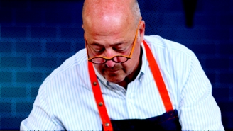 Quarantine & Chill — Chef Andrew Zimmern Pairs His Most Popular Pasta With A Classic Food Movie