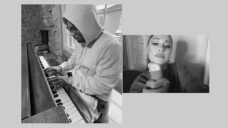 Ariana Grande And Her Producer Virtually Link Up To Perform 'My Everything'