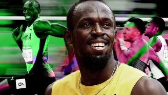 Usain Bolt Knows The World's Fastest Man Can't Exactly Slow Down