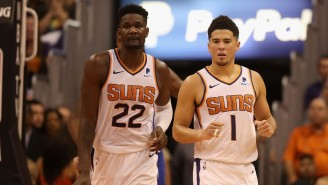 Suns Teammates Devin Booker And Deandre Ayton Stay Hot In The 'NBA 2K' Tournament Quarterfinals