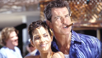 Pierce Brosnan Saved Halle Berry From Choking While They Were Filming A James Bond Sex Scene