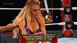 Charlotte Flair Became A Two-Time NXT Women's Champion At WrestleMania