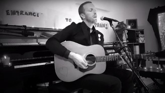 Coldplay's Chris Martin Covered Bob Dylan's 'Shelter From the Storm' On 'SNL At Home'