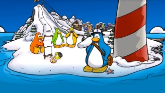 Soccer Mommy Had To Postpone A Virtual 'Club Penguin' Event Because The Site Was Overloaded