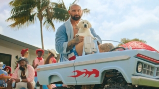Dave Bautista Encourages Us To Stay Home, Pants-Free, In New Smirnoff Ad