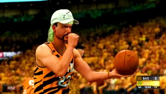A New NBA 2K Simulation Features Teams Made Up Of The Cast Of 'Tiger King'