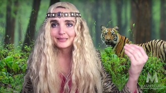 Chloe Fineman Played Carole Baskin On 'SNL At Home' To Set The Record Straight On 'Tiger King'