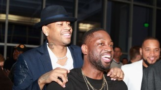 Dwyane Wade Told A Story Of Allen Iverson Giving Him $1,000 At A Casino As A Rookie