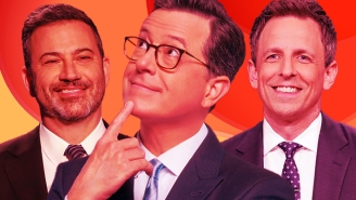 Anything Can Happen On Late Night Talk Shows Now, And It's Absolutely Terrific