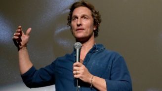 Matthew McConaughey Hosted A Virtual Bingo Game For Seniors Quarantined In Texas