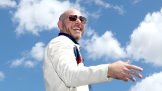 It's Anybody's Guess What Pitbull Is Trying To Say In His Head-Scratching Pandemic Message