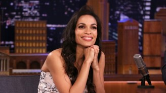 Rosario Dawson Really Wants Her 'Mandalorian' Role Made Official So She Can Finally Celebrate With Fans