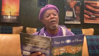 Samuel L. Jackson May Have Made The Best Motherf*cking Self-Isolation Video Out There
