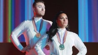 Demi Lovato And Sam Smith Aim To Reach The Top Of The Podium On Their Powerful Single, 'I'm Ready'