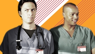 Zach Braff And Donald Faison Tell Us About Their New 'Scrubs' Podcast And, Yes, Turk's Dancing, Too