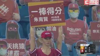 Please Enjoy This Monstrous Walk-Off Homer From A Real Live Baseball Game In Taiwan